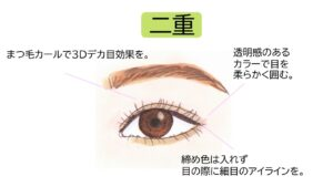 futaedekame 300x169 - 森七菜の目は一重?奥二重?画像で検証|すっぴん写真やメイク術も紹介