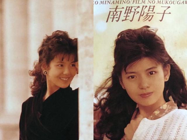 南野陽子,若い頃,画像