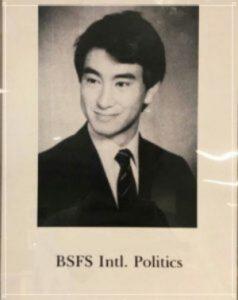 河野太郎,大学中退,学歴,経歴